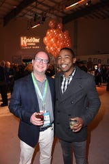 Founders and Co-Presidents of Scenario PR, Ron Hofmann and Steven Wilson, attend the 30th Annual Palm Springs International Film Festival Opening Night Reception.