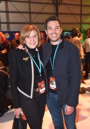 PSIFF Festival supporters Melody Rogers and Ozzy Inguanzo