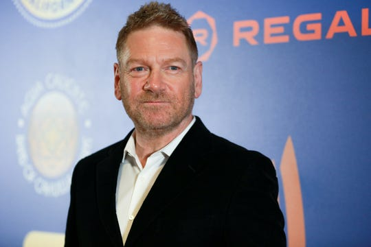 "Kenneth Branagh attends the PSIFF Opening Night Screening of ""All Is True"", a film about the final years of William Shakespeare in which he both directs and stars."