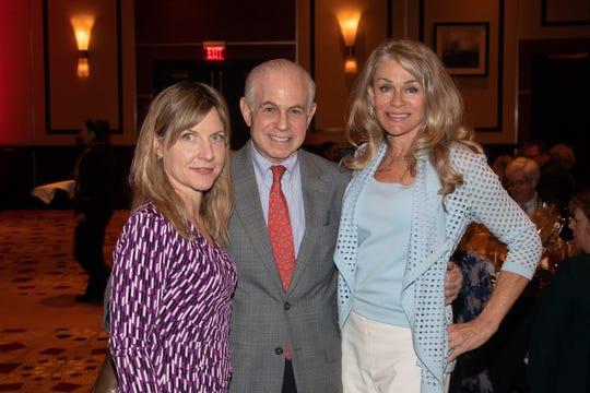 Julie MakinenExecutive Editor, The Desert Sun, Mitch Blumberg, and Denise DuBarry Hay