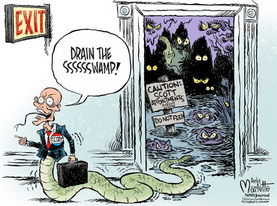 Gov. Rick Scott is off to the U.S. Senate!