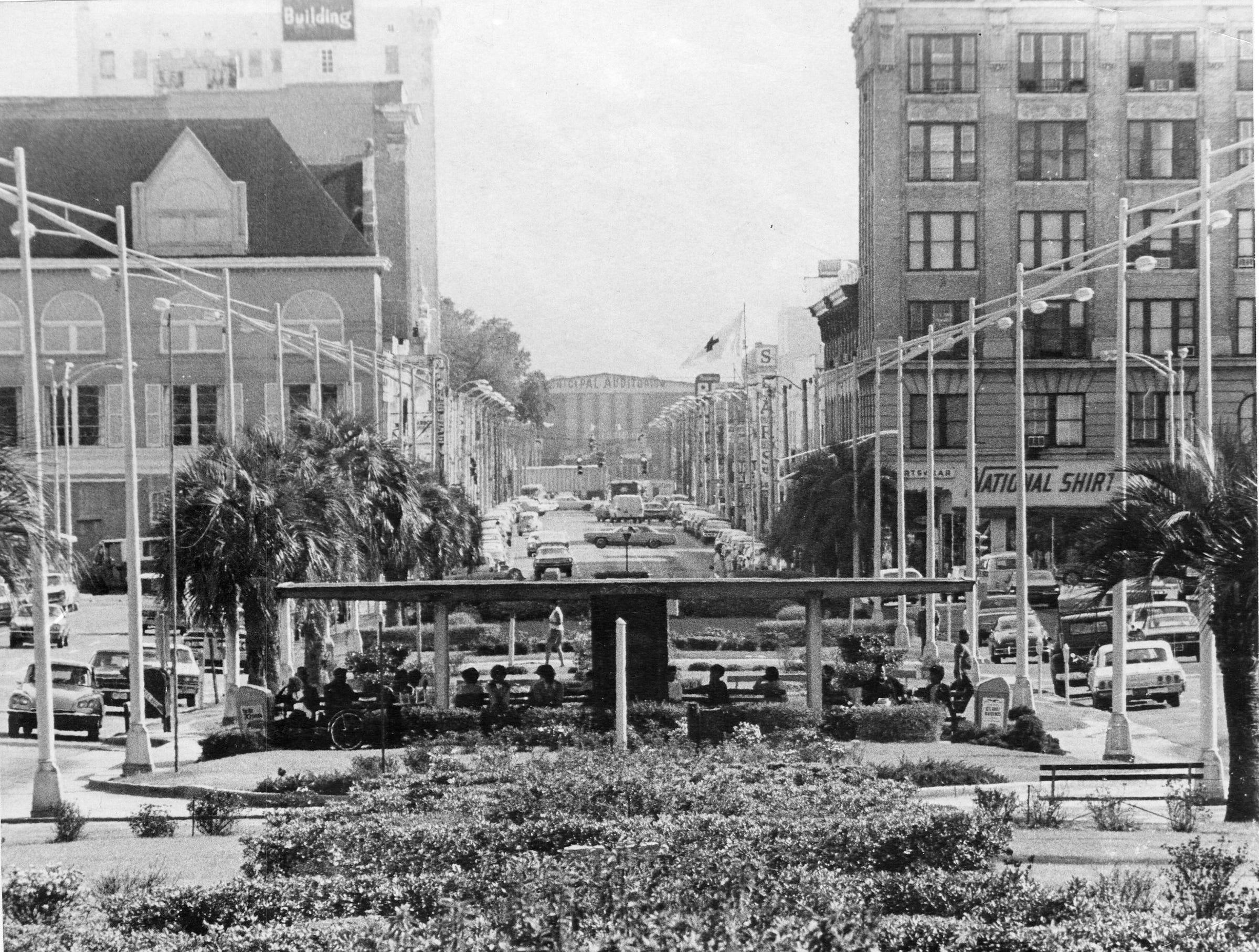 Palafox Street, 1970s.