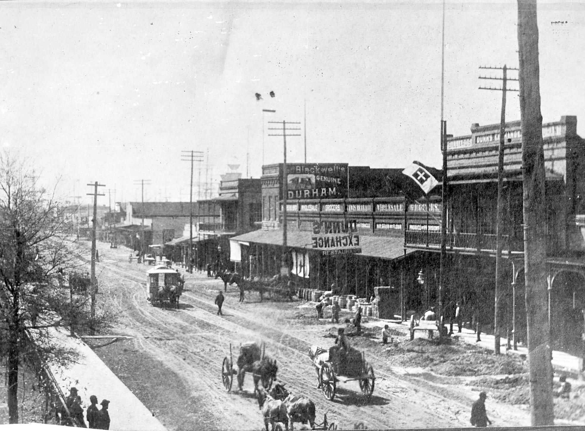 South view of Palafox Street. Date unknown.