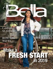 January Bella Magazine model Monifa Love.