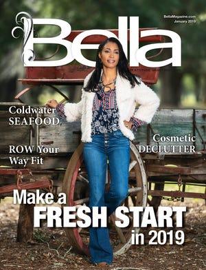 January Bella Magazine model Monifa Love.