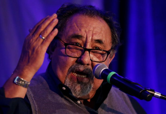"""U.S. Rep. Raúl Grijalva, D-Ariz., tweeted """"Experts and government agencies agree that the Southern border poses no imminent national security threat."""""""
