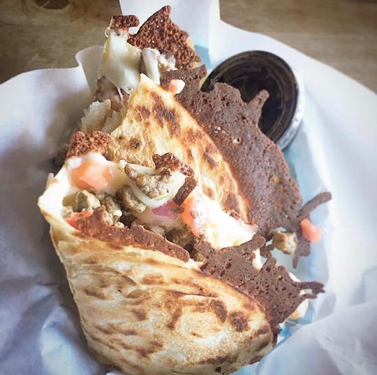 Dilla Libre Gourmet Quesadillas and Cantina's carne dilla.