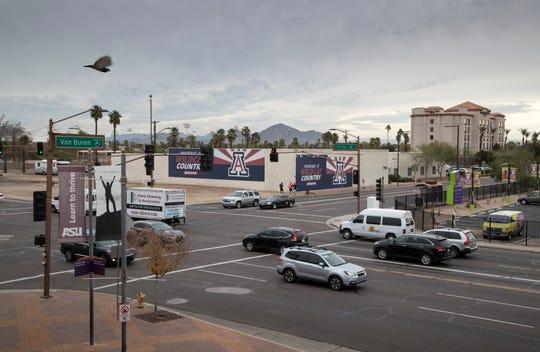 Van Buren Street between Seventh Street (above) and 32nd Street in Phoenix is scheduled to be repaved between July 2019 and June 2020.