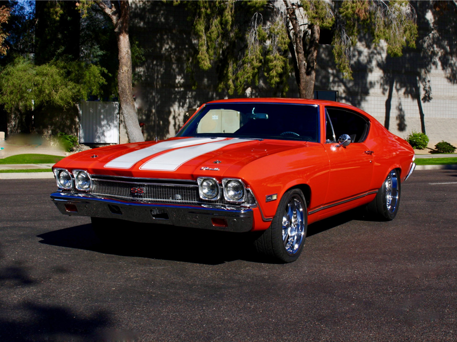 Cardinals receiver Larry Fitzgerald will auction off a 1968 Chevy Chevelle at the Barrett-Jackson collector car auction at WestWorld in Scottsdale on Friday. The car was custom-built for Fitzgerald.