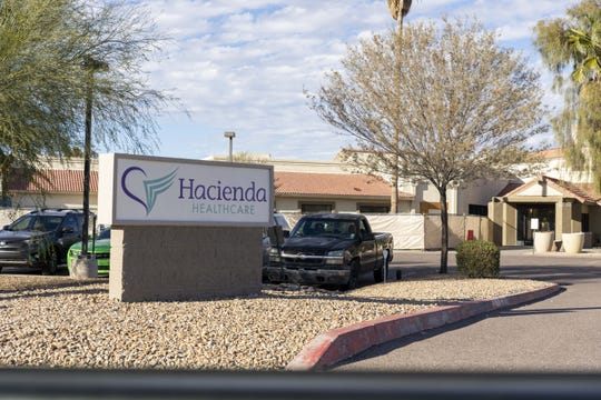 An incapacitated patient at Hacienda de los Angeles, 1402 South Mountain Ave., gave birth Dec. 29. The Phoenix Police Department is asking for the public's help in finding the perpetrator who sexually assaulted and impregnated the patient.