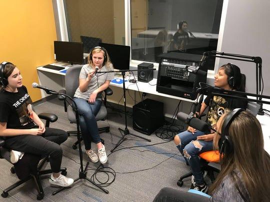 SPOT 127, KJZZ's youth media center.