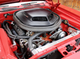 A look under the hood of Larry Fitzgerald's 1970 Plymouth 'Cuda.