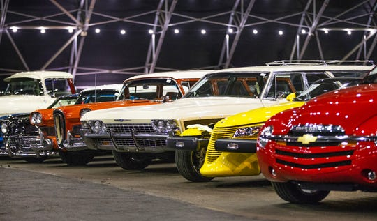 About 1,800 cars will be sold at the upcoming 48th Annual Barrett-Jackson Scottsdale Collector Car Auction, which runs January 12-20 at WestWorld.