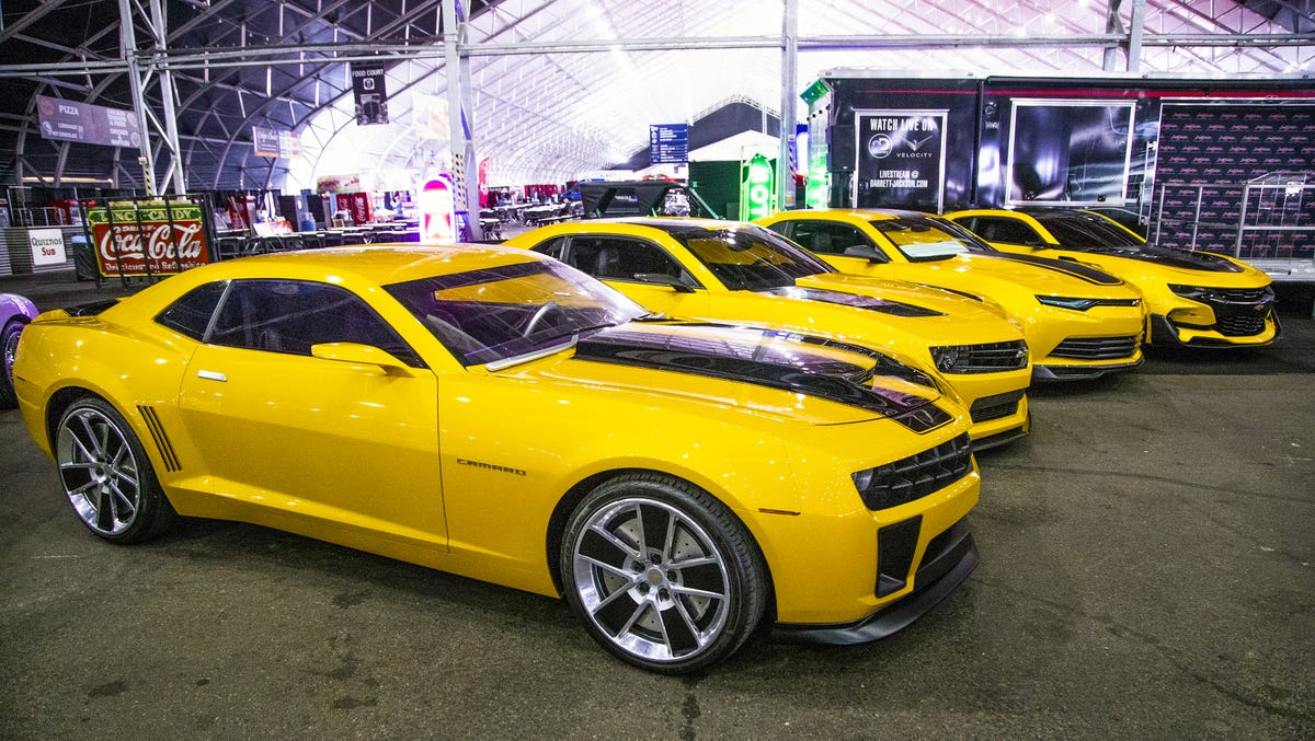 Barrett-Jackson: Bumblebee Camaros from Transformers sell