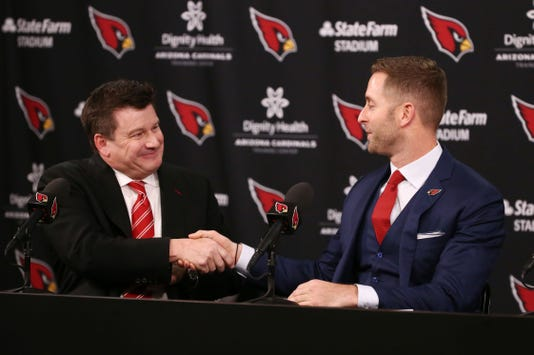 Arizona Cardinals New Head Coach Kliff Kingsbury