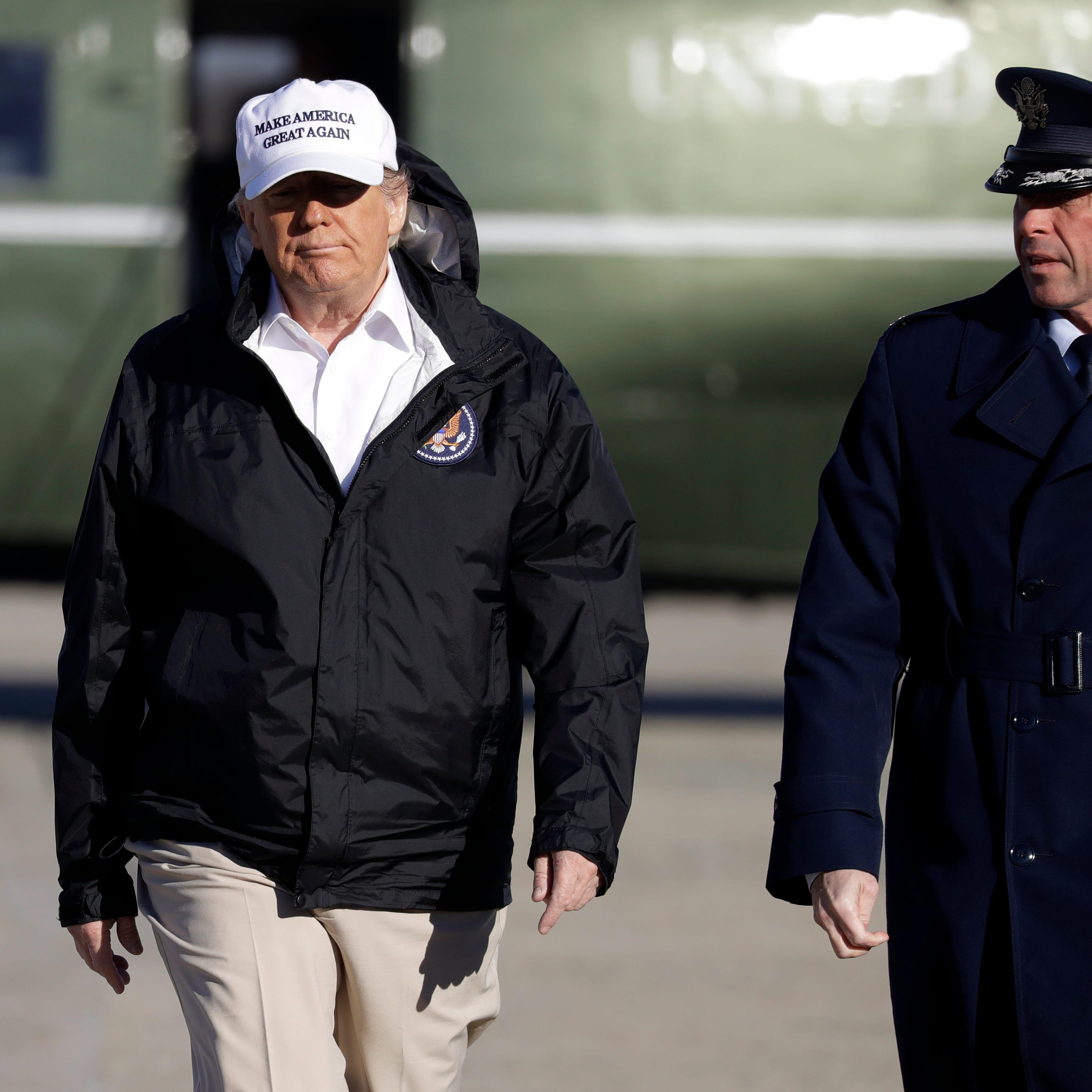 Trump visita la frontera tras diálogo fallido con demócratas