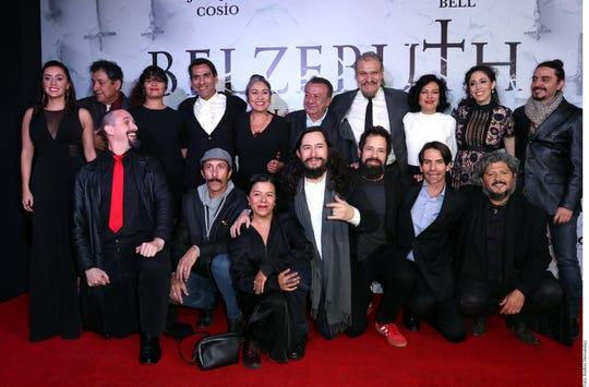 La premier se llevó a cabo en un cine del sur de la Ciudad de México.