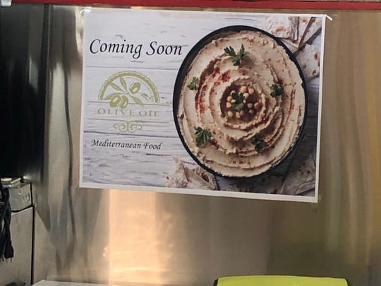 Coming soon at the Lebanon Farmers Market: Olive Oil Mediterranean Restaurant.