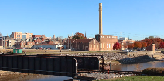 The Met-Ed steam plant, which will be the new home to York County History Center's Museum and Library Archives in 2021.