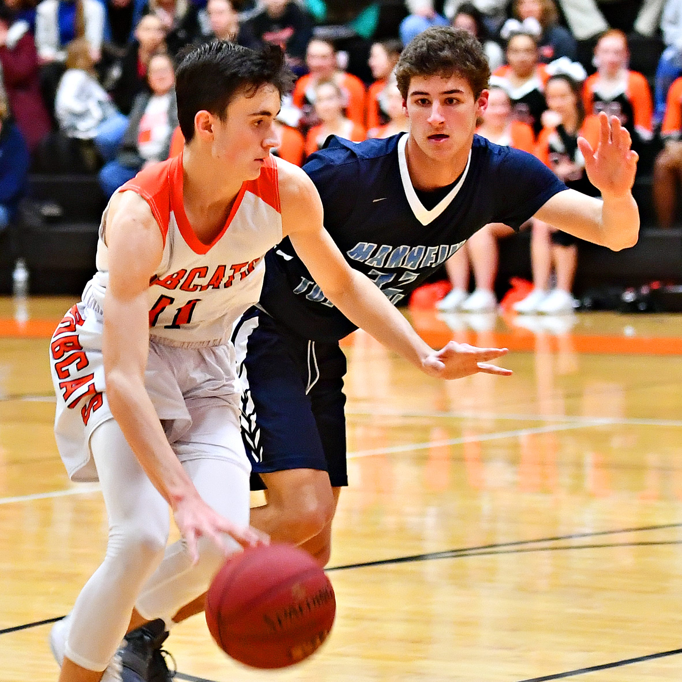 BOYS' BASKETBALL, MONDAY, JAN. 14: Sharp-shooting Andrew Brodbeck leads Northeastern