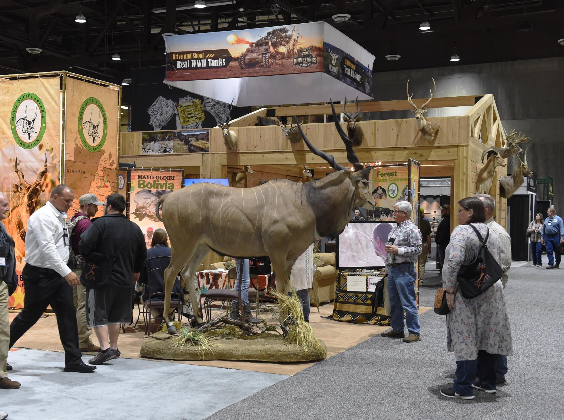 Image from opening day of SCI Convention at the Reno-Sparks Convention Center on Jan. 9, 2019.