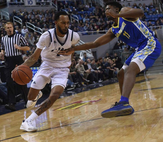 Nevada's Corey Henson looks to drive against San Jose State. He scored 15 points in the Wolf Pack's big win over the Spartans.