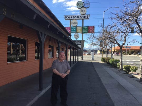 Jeffry Paine, owner of Gold 'N Silver Inn, says he is not currently seeking to sell his restaurant, a Reno institution, despite rumors to the contrary.