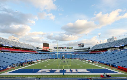 New Era Field in Orchard Park, Erie County. The owners of the Bills and Buffalo Sabres have hired consulting and architectural firms to study the future needs of both teams' facilities. A fan survey was emailed this week.