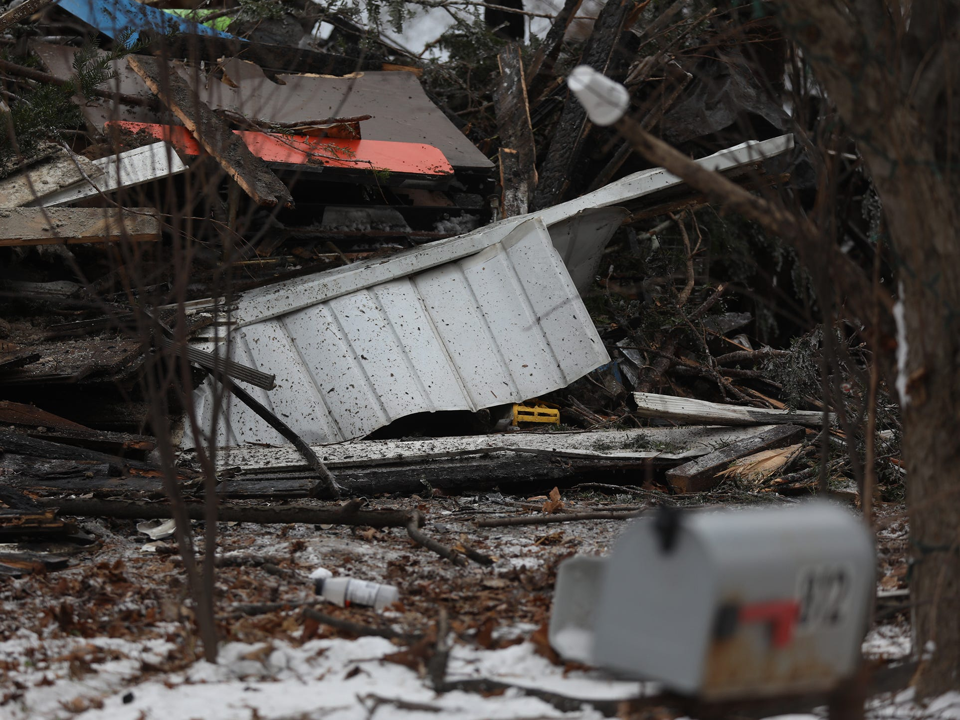Two family members lived at the home on Walker Lake Ontario Road in Hamlin.