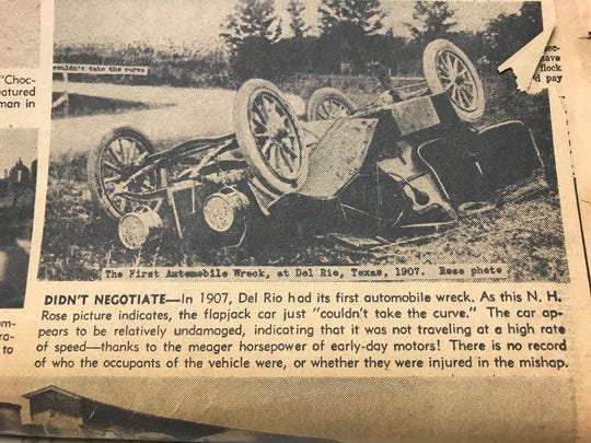 News of automobile crashes became more and more common as the new horseless carriages began to dominate the roadways.