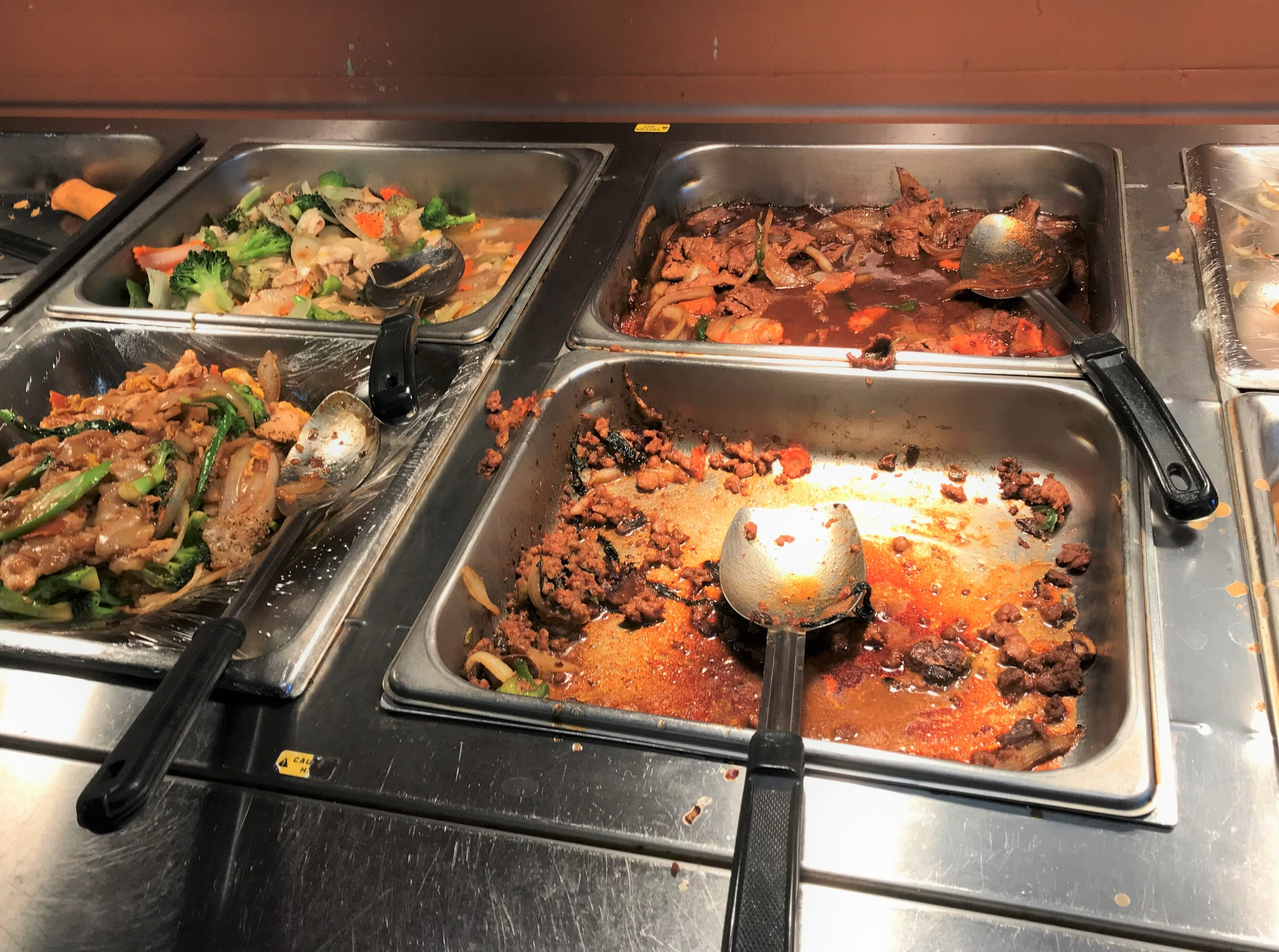 Sneak peek of the lunch buffet at Toy's Thai Restaurant on Friday, January 4, 2019, in Sheboygan, Wis.
