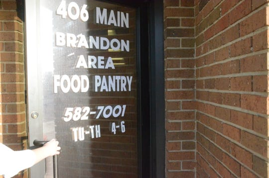 The Brandon Area Food Pantry saw an increase of consumers over the holiday season.
