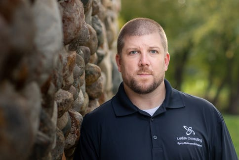 Andy Gillham of Sioux Falls has a background in strength and conditioning but found a niche in sports performance.
