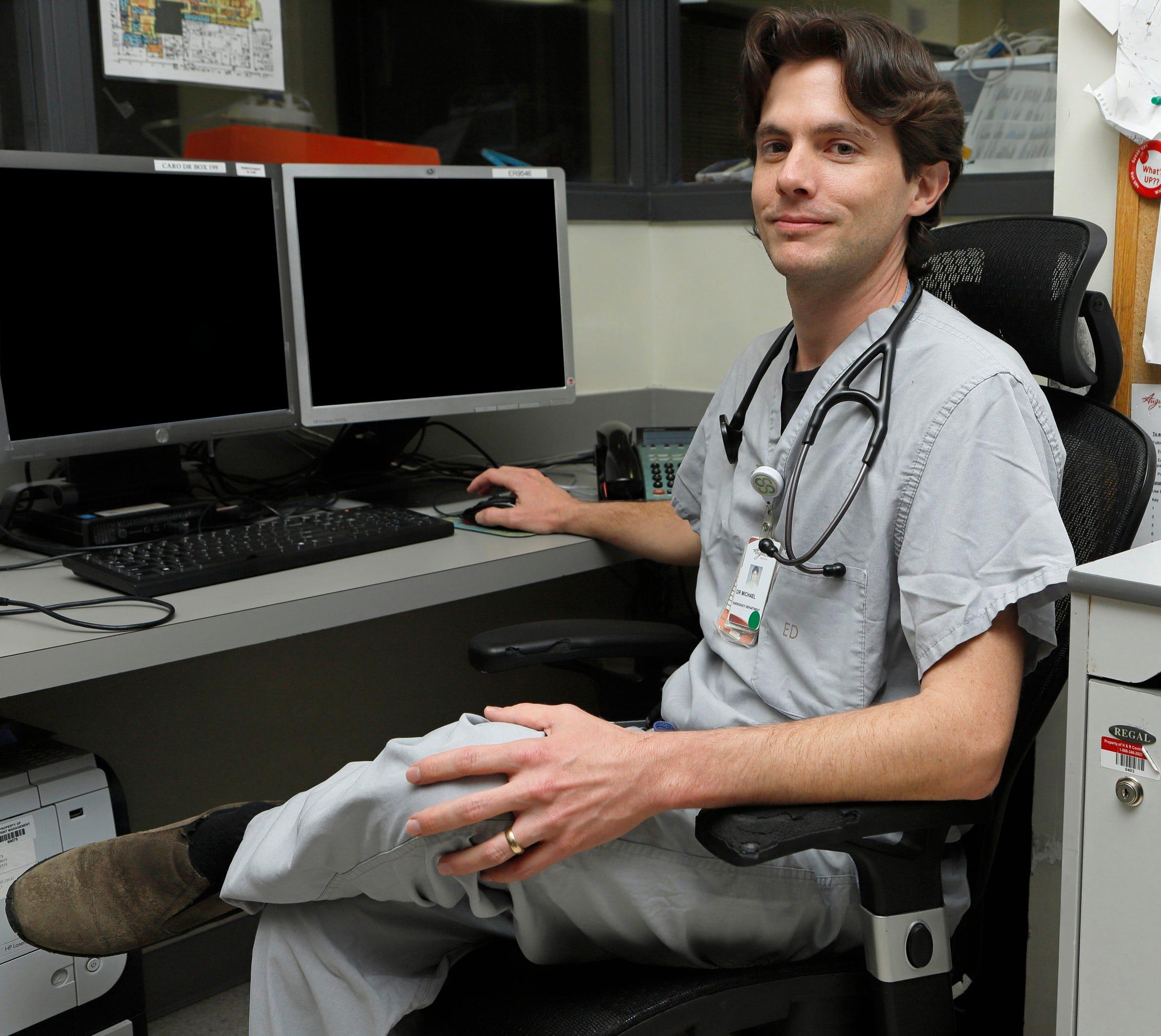 Augusta Health Emergency Medicine Physician Dr. Glen Michael