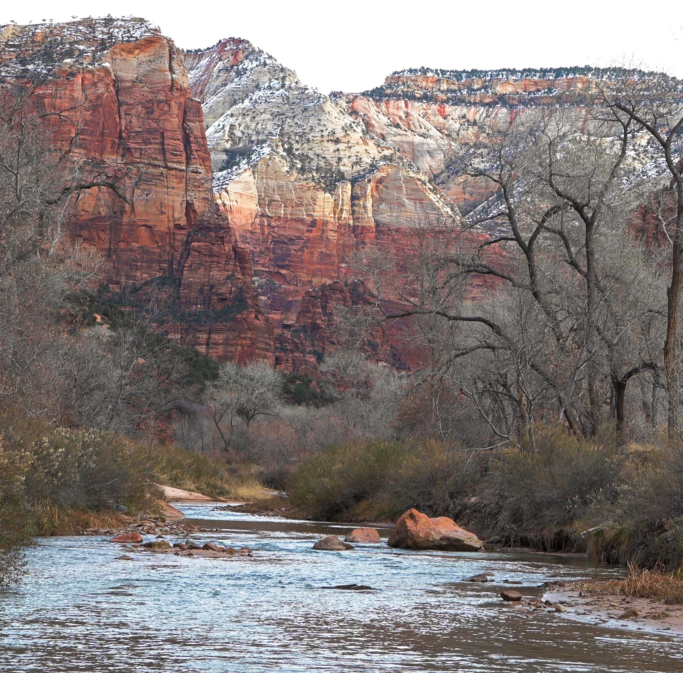 Man caught in quicksand at Zion National Park spends two days in winter conditions