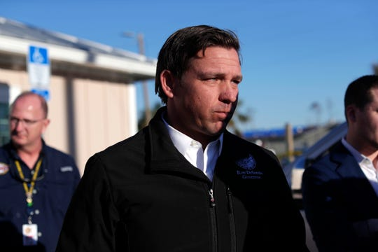 Since he took office this week, Gov. Ron DeSantis has been using an aircraft seized from drug dealers to fly around the state. His aircraft made an emergency landing in St. Petersburg Friday.