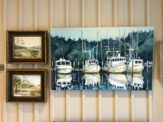 Scipio Creek line up is part of the Forgotten Coast featured at Artport Gallery.