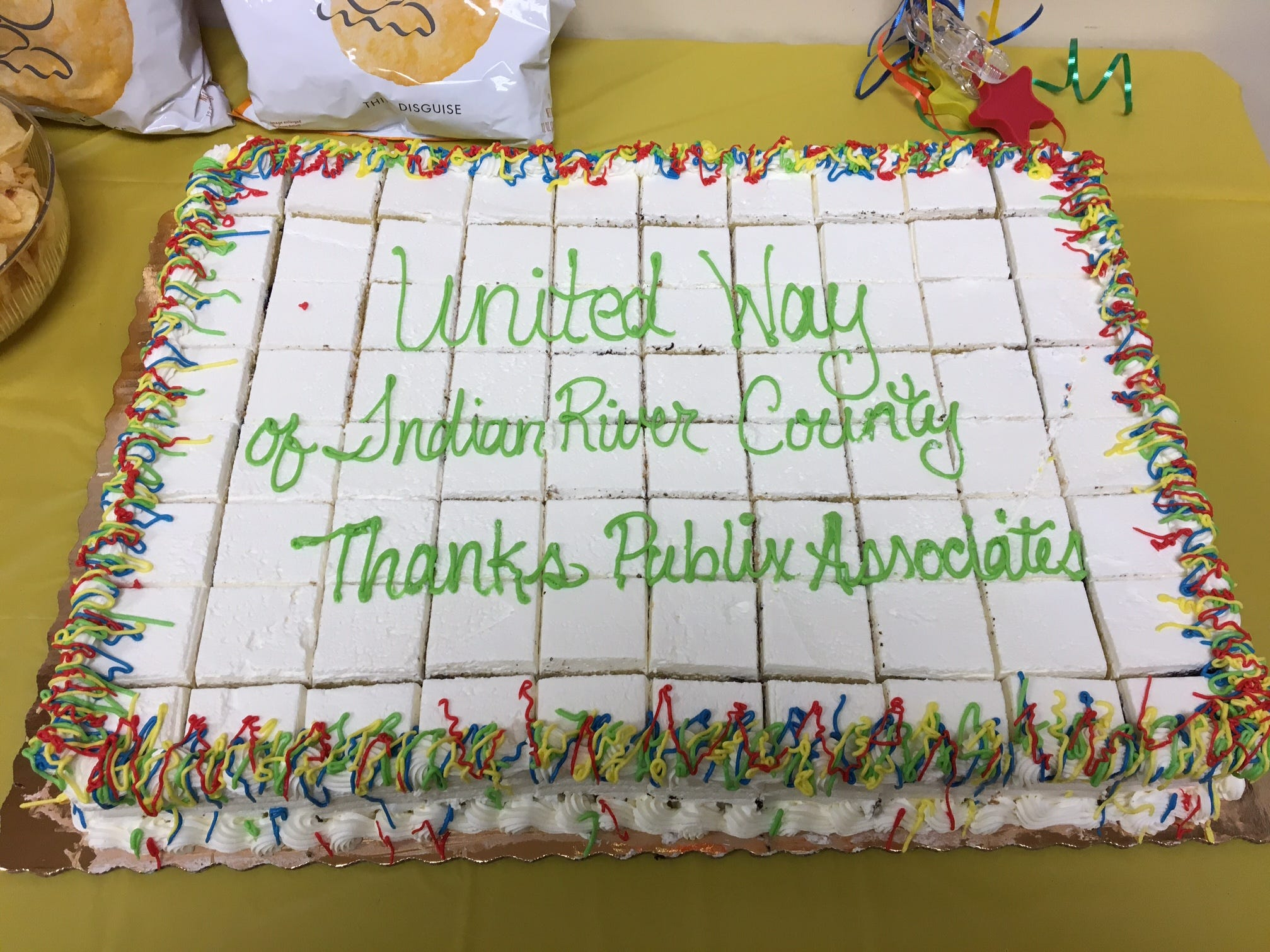 United Way of Indian River County shows its appreciation to Publix employees for their continued support.