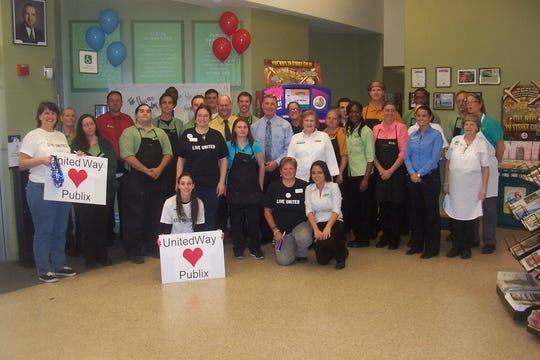 Publix Appreciation Day is celebrated at the Miracle Mile store in 2016.