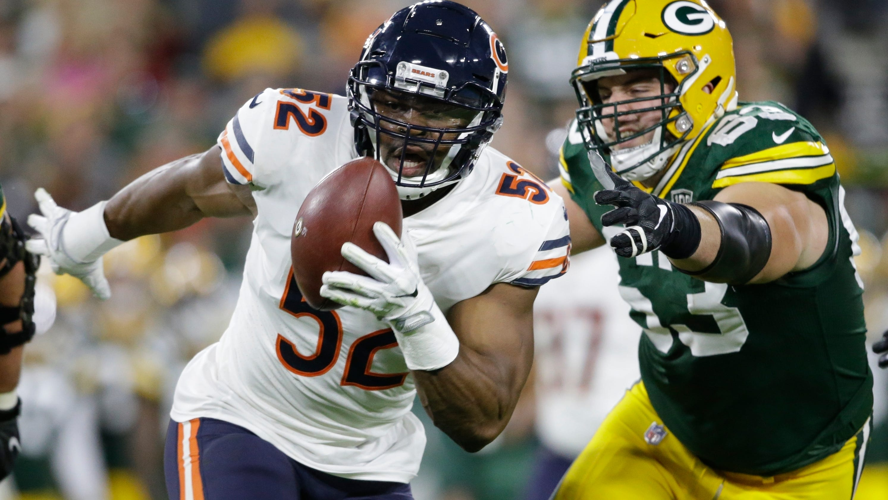 fbfc665be Chicago Bears linebacker Khalil Mack to miss Pro Bowl game