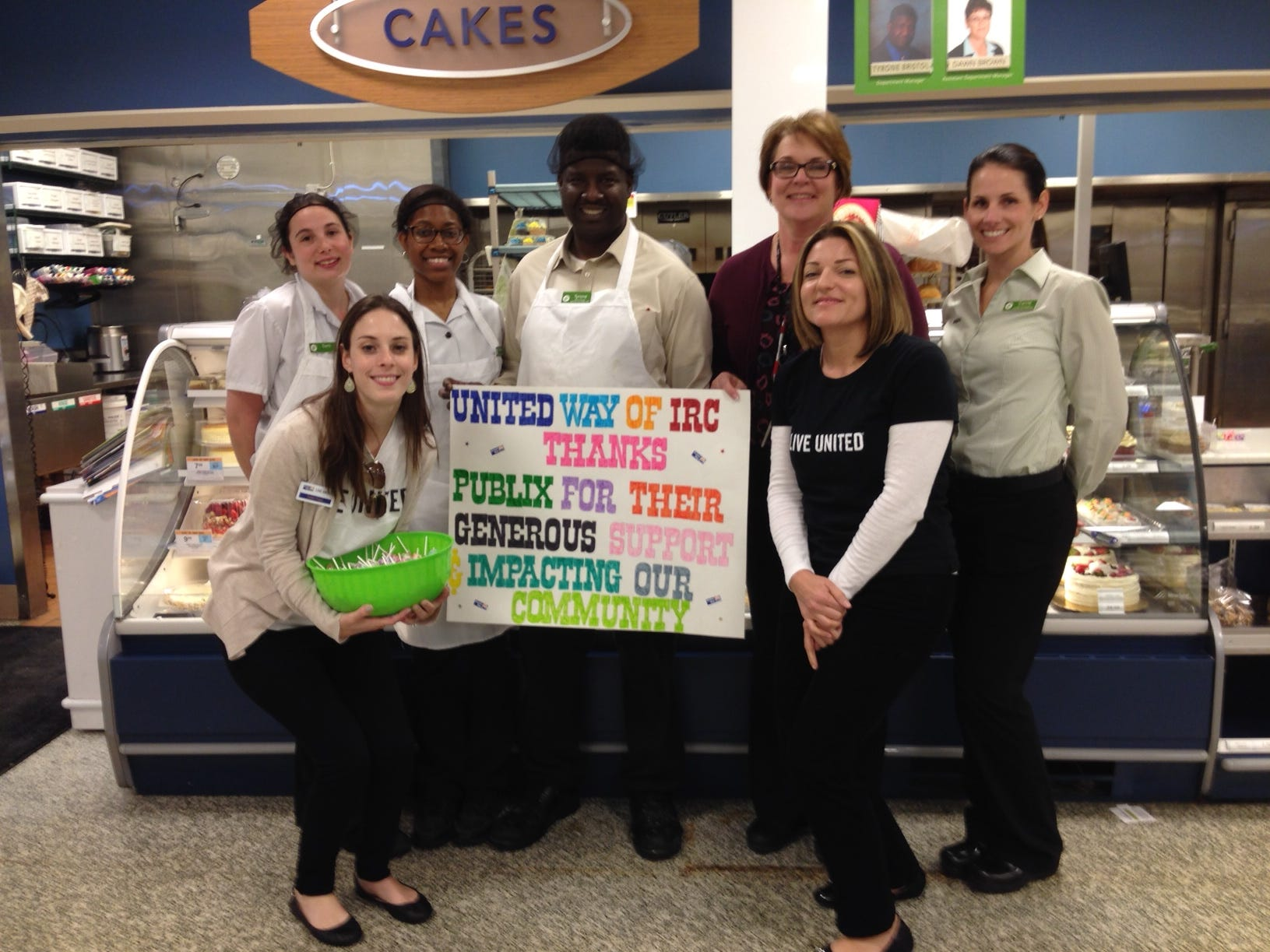 United Way of Indian River County thanks Publix employees for their continued support.