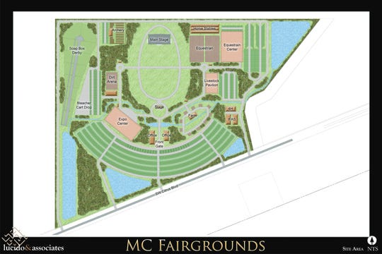 Artist's rendering of the new Martin County Fairgrounds site.