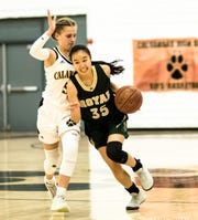 Royal's Allison Ha (35) is one of the top scorers and playmakers in the county.