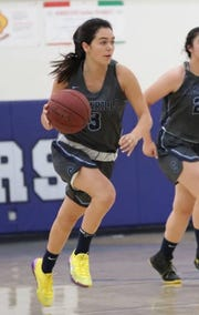 Alyssa Marin is averaging 18.8 points per game, which includes 48 3-pointers, while playing point guard for Camarillo.