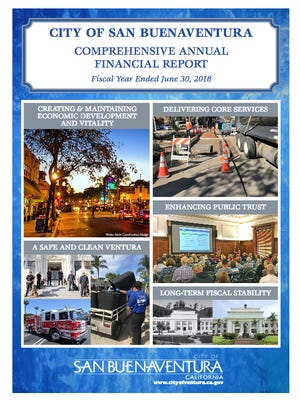 Ventura's Comprehensive Annual Financial Report will be presented to the City Council on Monday night.