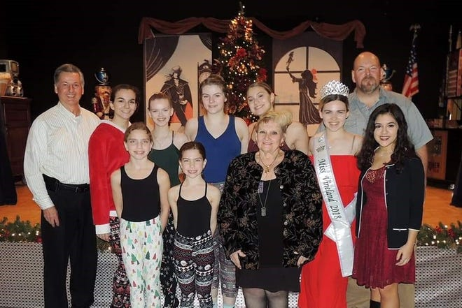 Miss Vineland Sarah Layton organized a variety show at the New Jersey Veterans Memorial Home in Vineland in tribute to the late Staff Sergeant Jerry Giordano Jr.