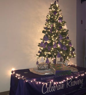 The Southwest Council's Tree of Hope Coffeehouse celebrates freedom from addiction, encourages individuals who are in recovery, and remembers those who have lost their lives to overdose.