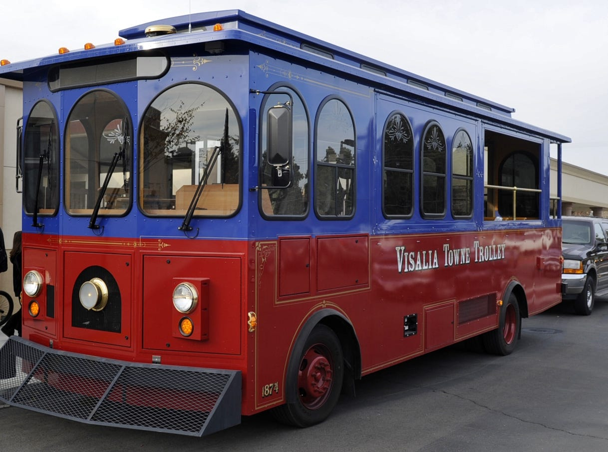 Downtown Visalia trolley a 'downward spiral' money pit for city