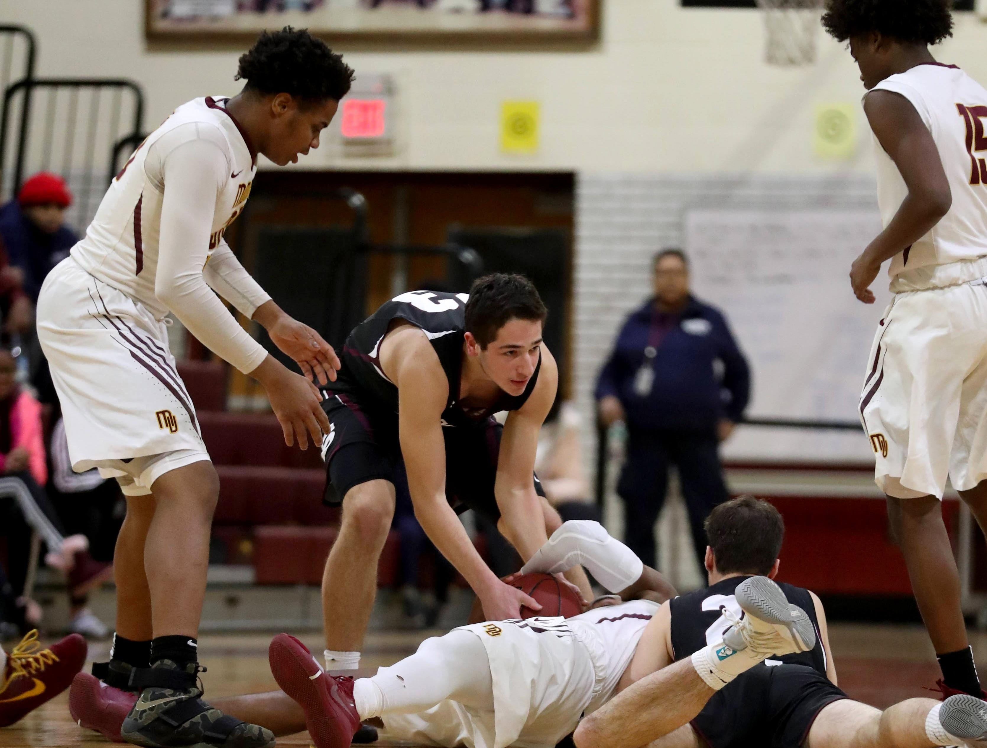 Mount Vernon defeated Scarsdale 70-54 in a varsity basketball game at Mount Vernon High School Jan. 9, 2019