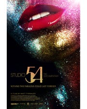 "Poster for the documentary ""Studio 54."""